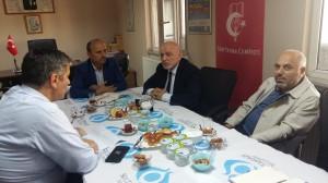 Sultangazi Eğitime Destek Platformu (EDEP) Toplantısı Şubemizde Yapıldı